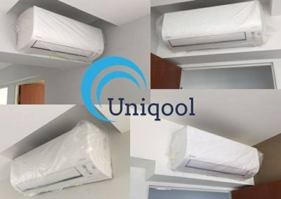 Uniqool Residential Project Installations